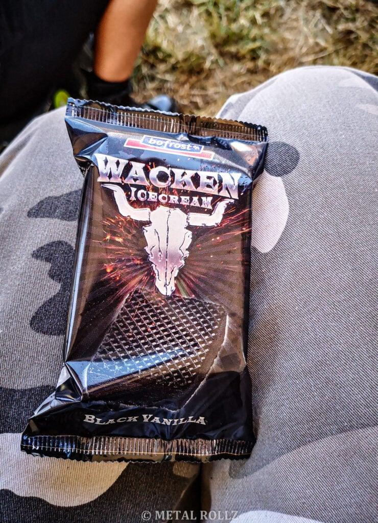 Schwarzes Wacken-Eis