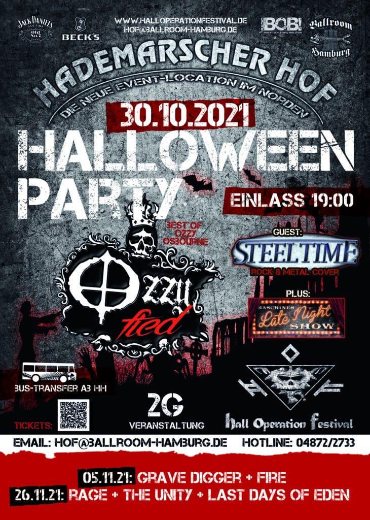 Flyer - Ballroom Halloween Party